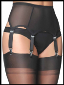6 Strap Suspender Belts